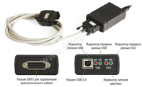 "Адаптер ""USB-ECU AS 3"""